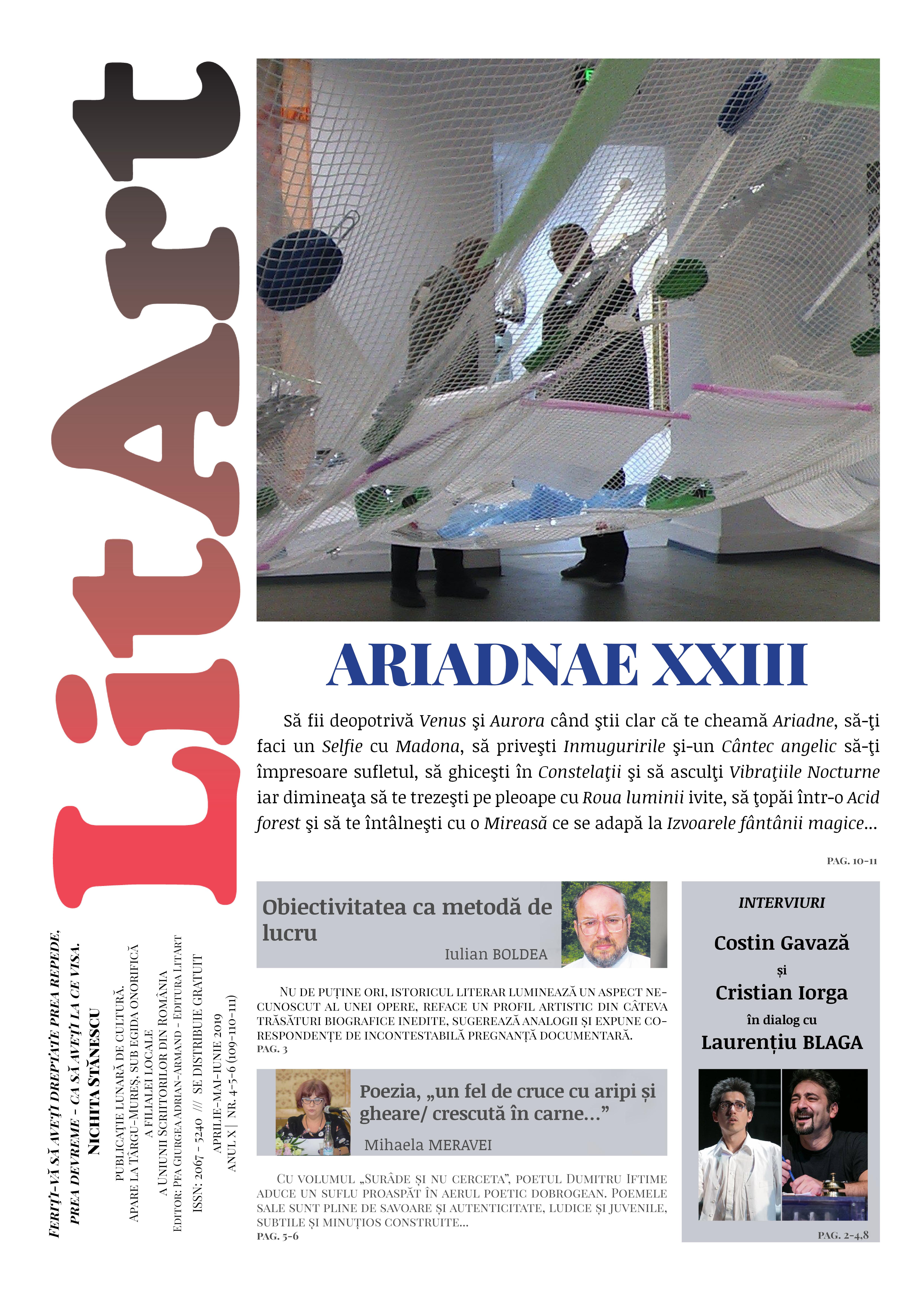LitArt aprilie-mai-iunie 2019